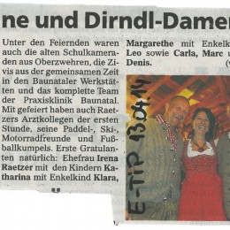 """1984 – """"ROCKMACHINE wird 30"""" – 2014 / EXTRA-TIP 13.04.2014"""