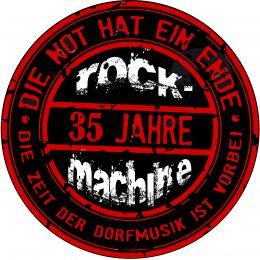 """1984 – """"ROCKMACHINE wird 35"""" – 2019"""